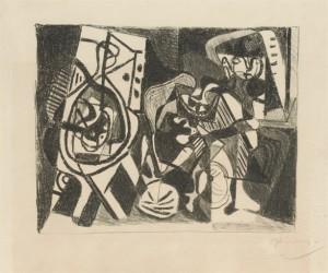Picasso Scene d Interieur 1926